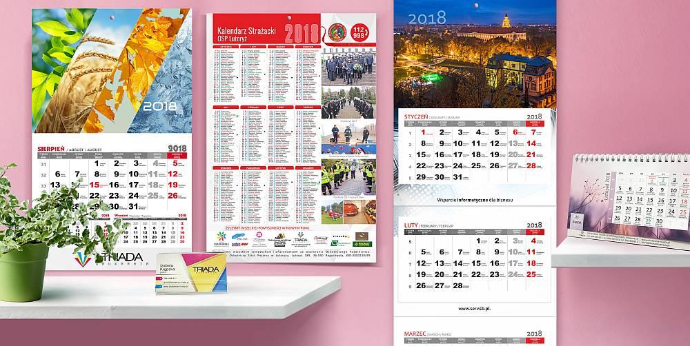 Czym charakteryzują się kalendarze reklamowe?